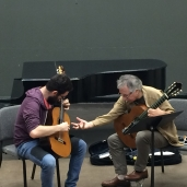 Alvaro Pierri Teaching a masterclass at FSU